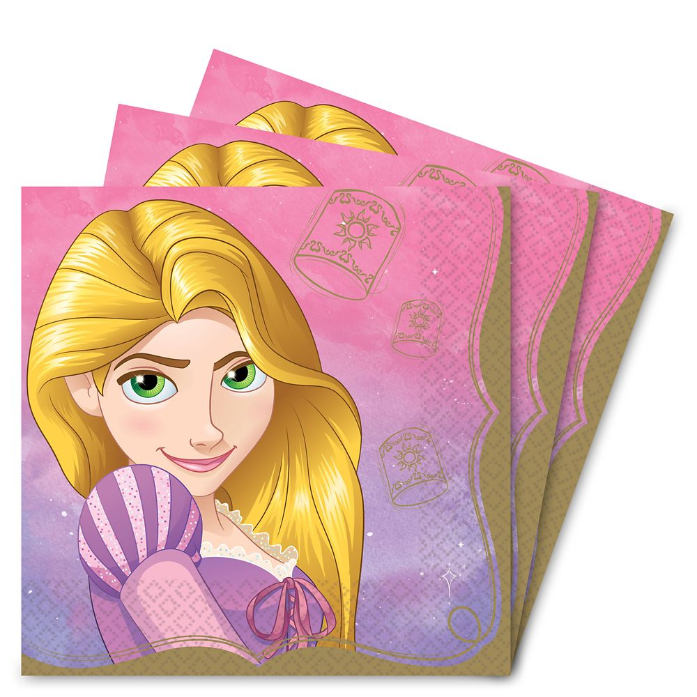Rapunzel Lunch Napkins