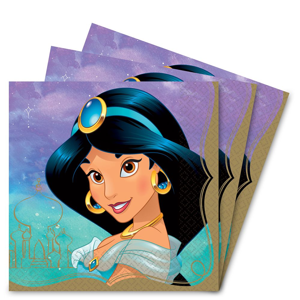 Jasmine Lunch Napkins Official shopDisney