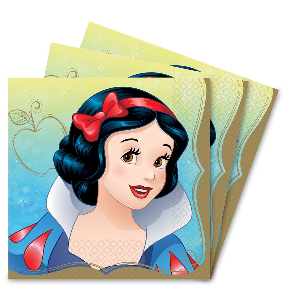 Snow White Lunch Napkins Official shopDisney