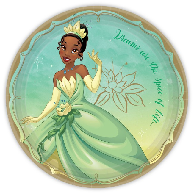 Tiana Lunch Plates