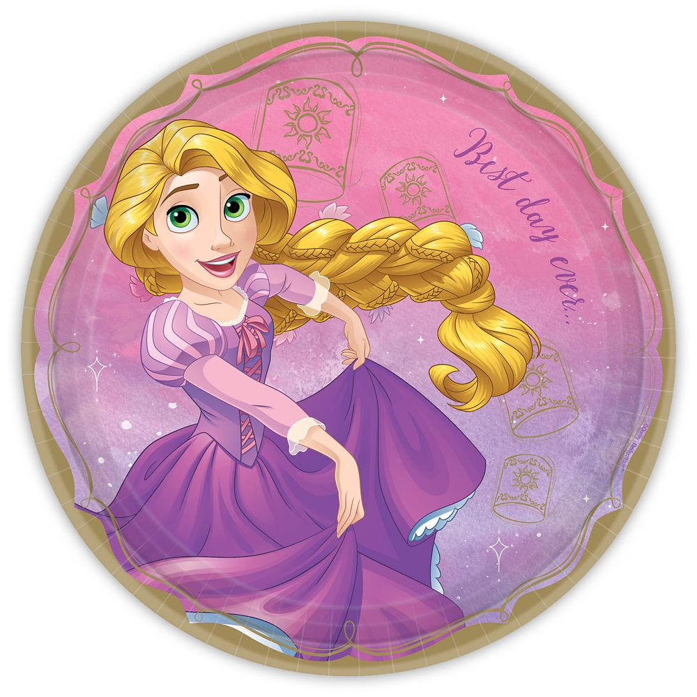 Rapunzel Lunch Plate
