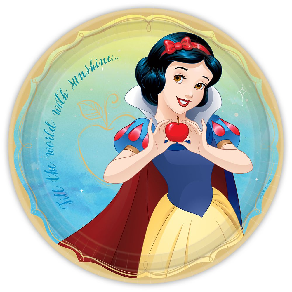 Snow White Lunch Plates