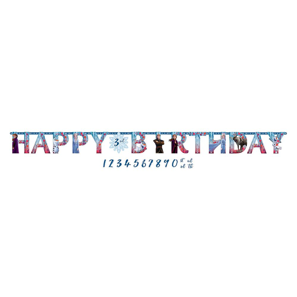 Frozen 2 Birthday Banner