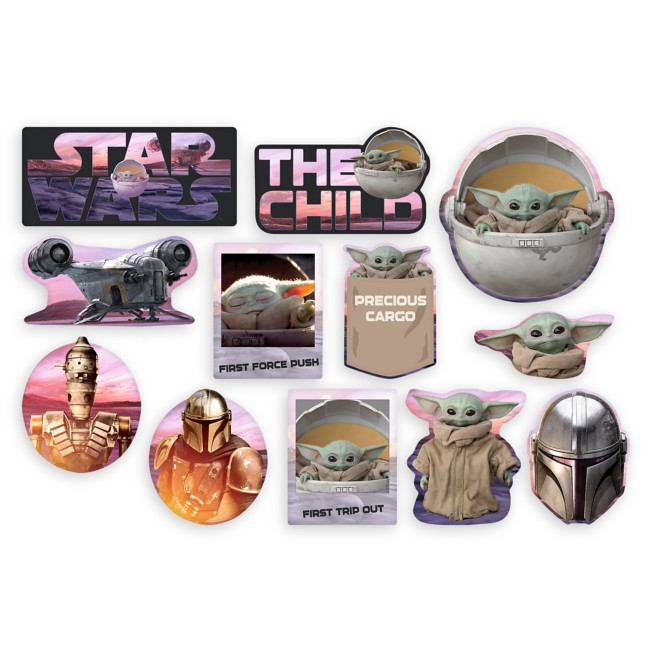 Star Wars: The Mandalorian Party Cutouts
