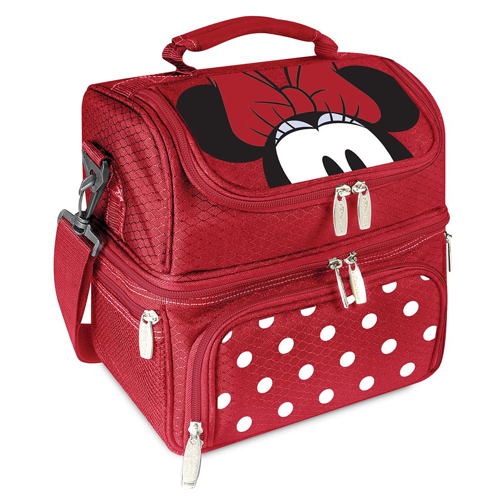 Minnie Mouse Lunch Box with Utensils