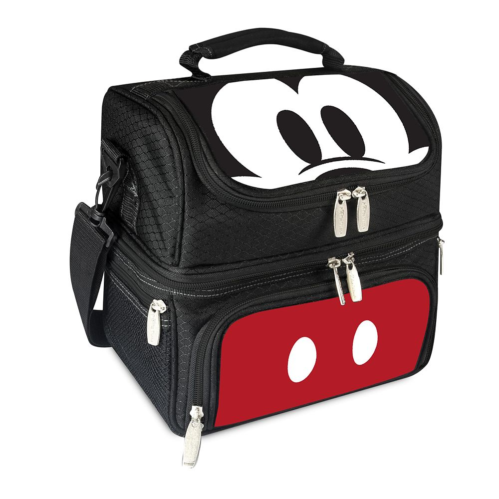 Mickey Mouse Lunch Box with Utensils