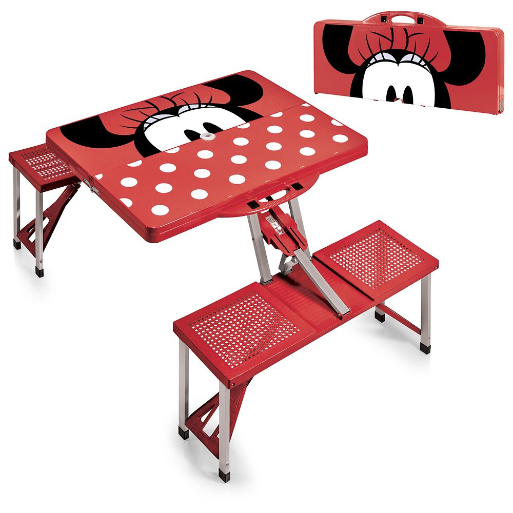 Minnie Mouse Picnic Table with Seats