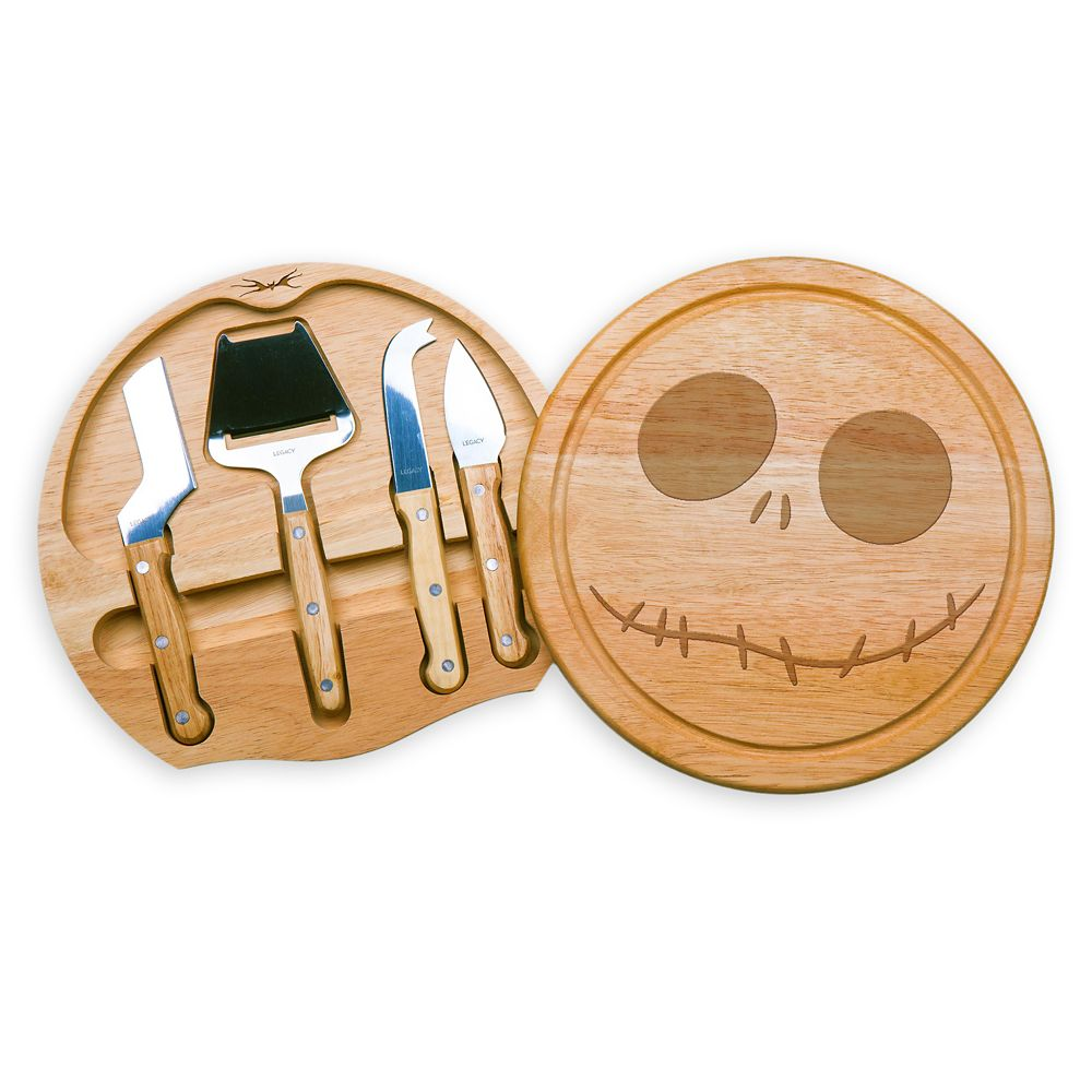 Jack Skellington Cheese Board and Tools Set