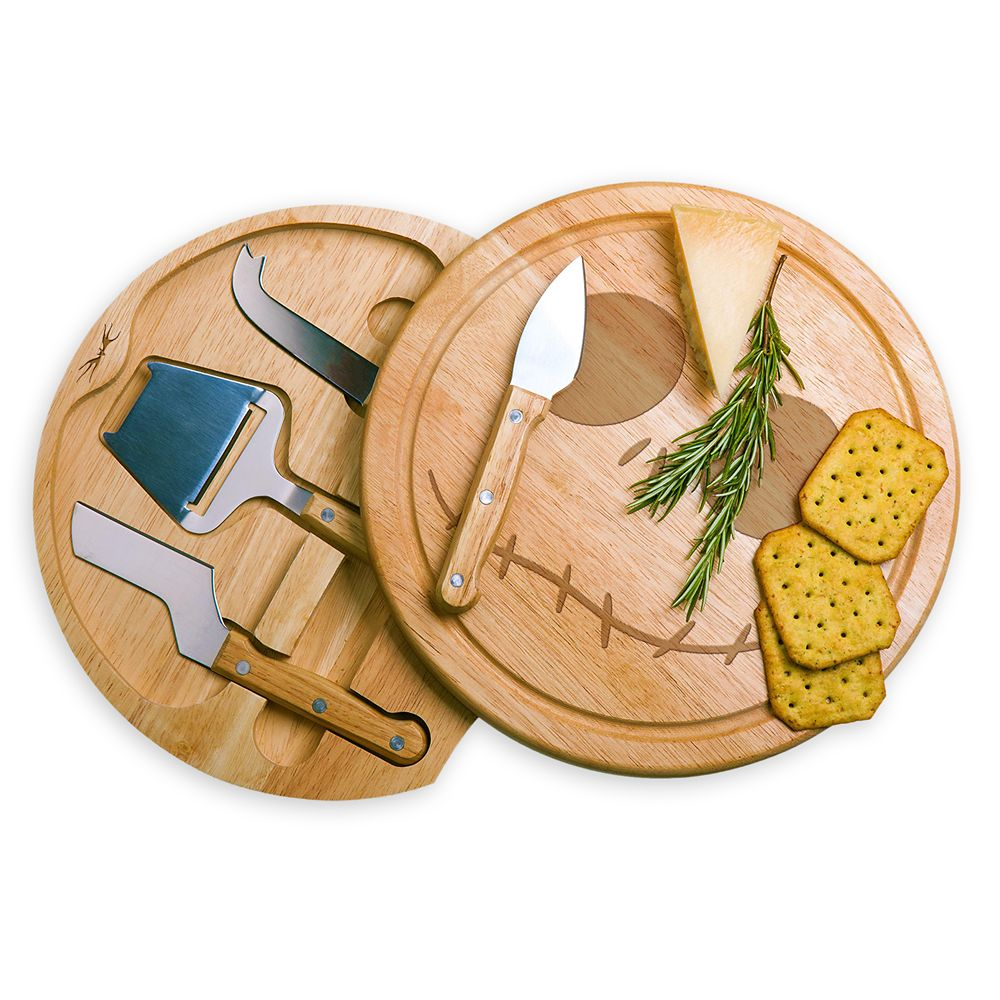 Jack Skellington Cheese Board and Tools Set