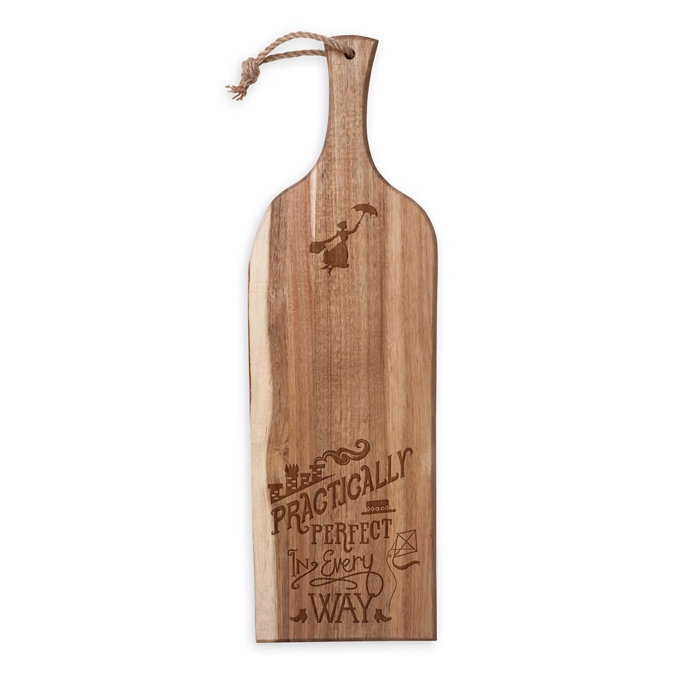 Mary Poppins Wooden Serving Plank