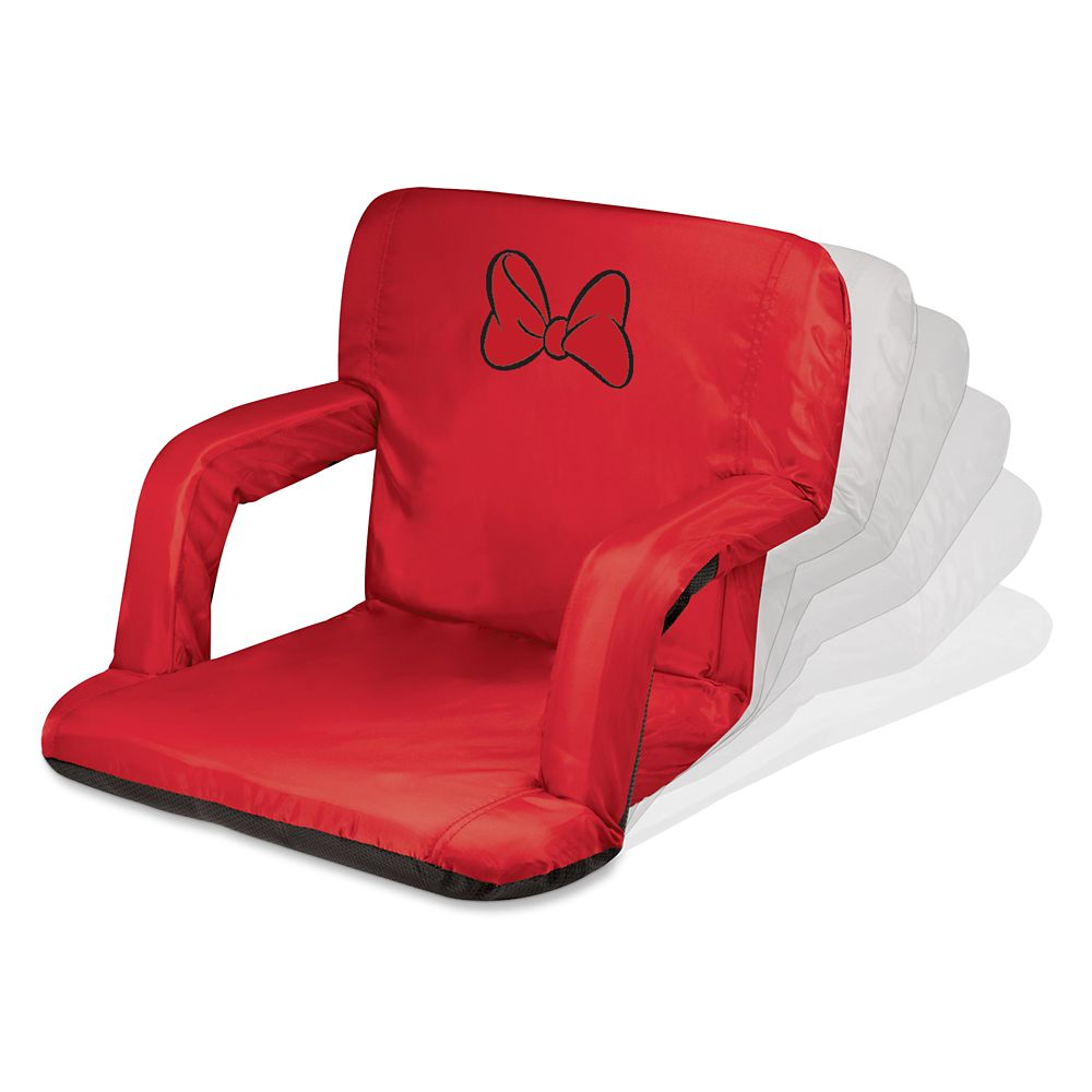 Minnie Mouse Portable Reclining Stadium Seat