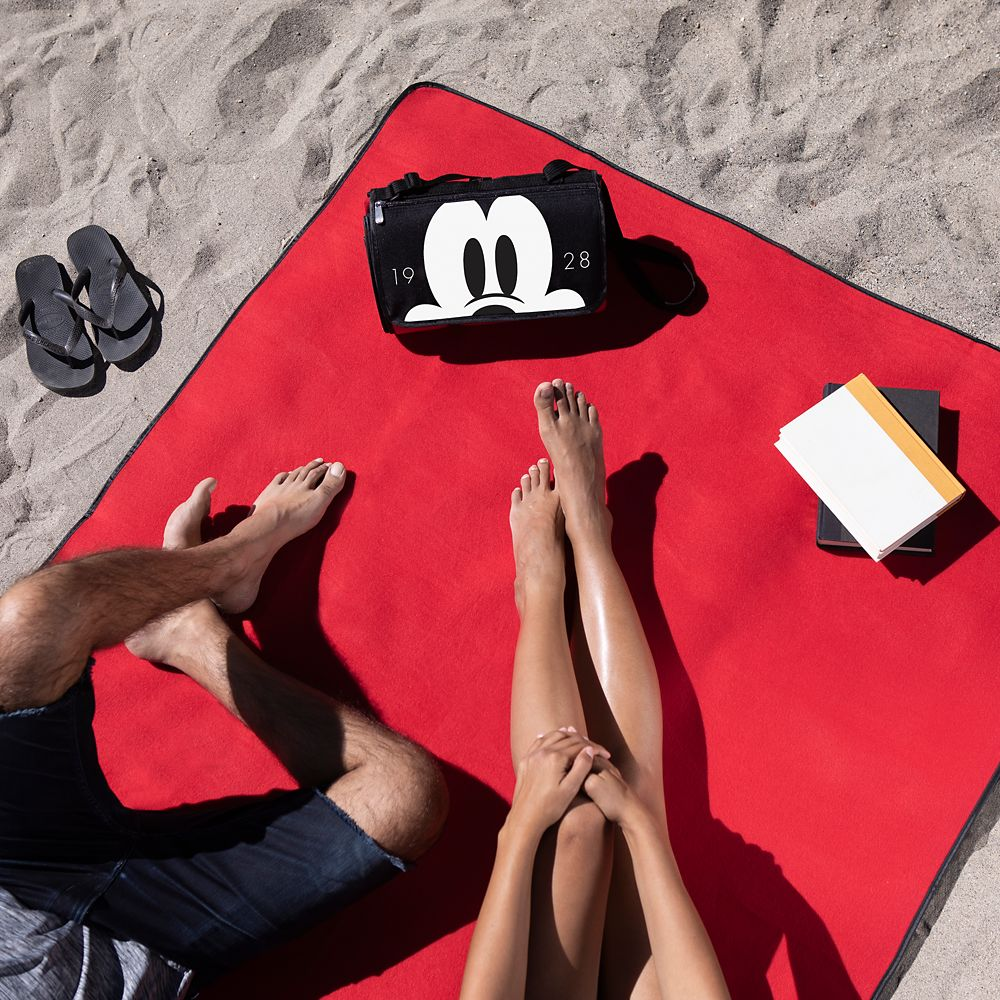 Mickey Mouse Picnic Blanket Messenger Bag
