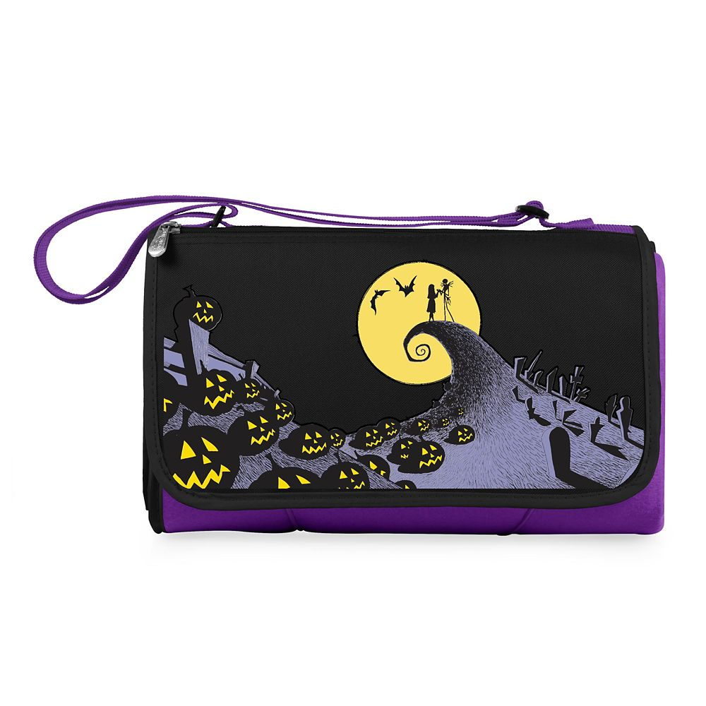 Tim Burton's The Nightmare Before Christmas Picnic Blanket Messenger Bag