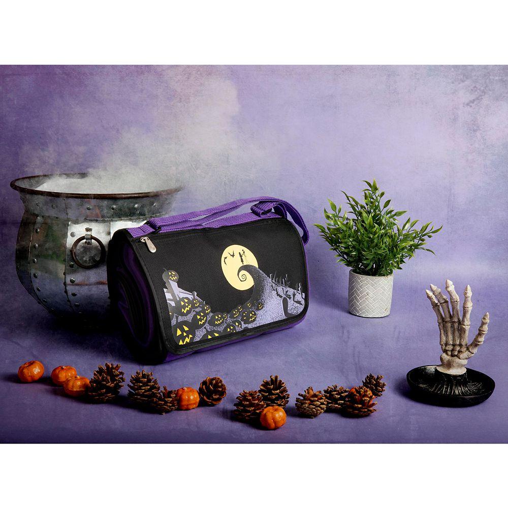 Tim Burton's The Nightmare Before Christmas Picnic Blanket Messenger Bag