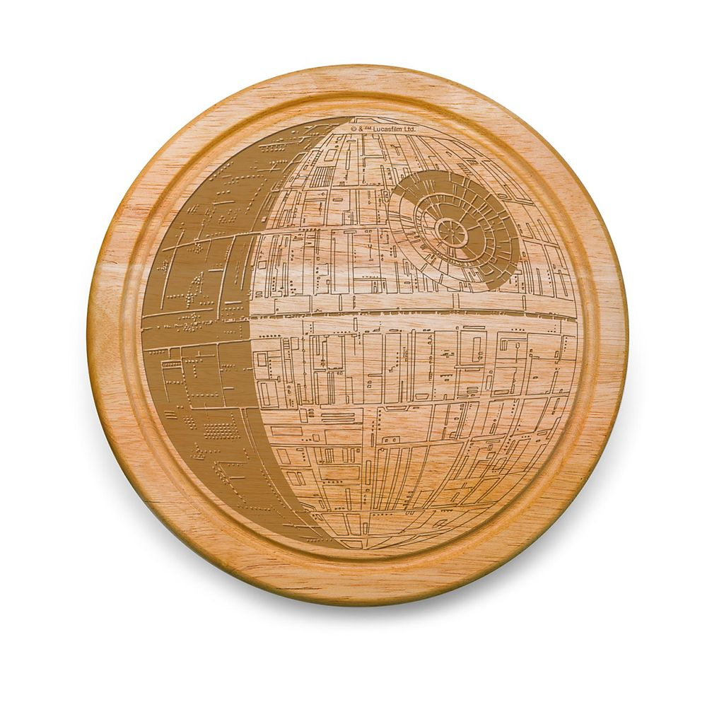 Best Star Wars Gift Ideas featured by top US Disney blogger, Marcie and the Mouse: Death Star Cheeseboard Set Star Wars Official shopDisney