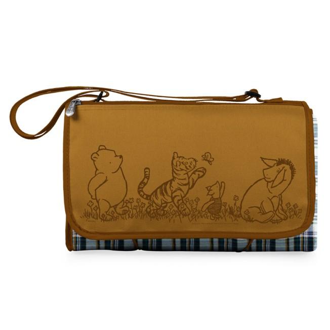 Winnie the Pooh Blanket Tote Outdoor Picnic Blanket