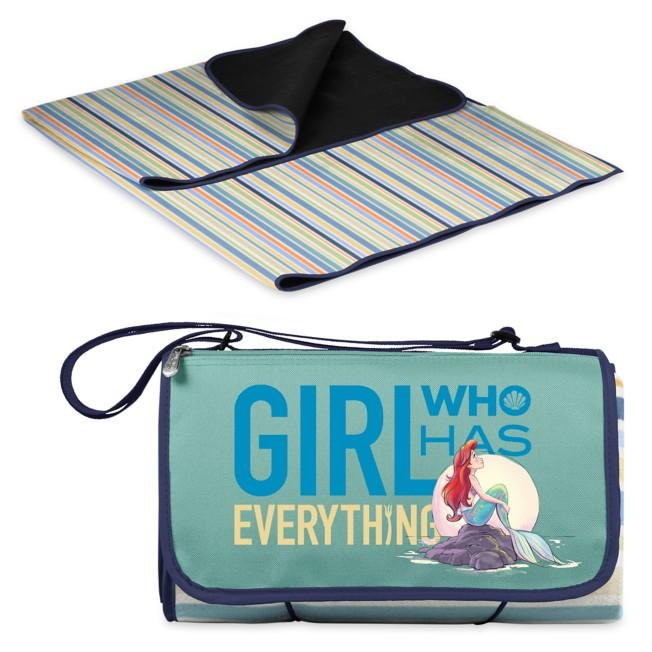 Ariel Blanket Tote Outdoor Picnic Blanket – The Little Mermaid