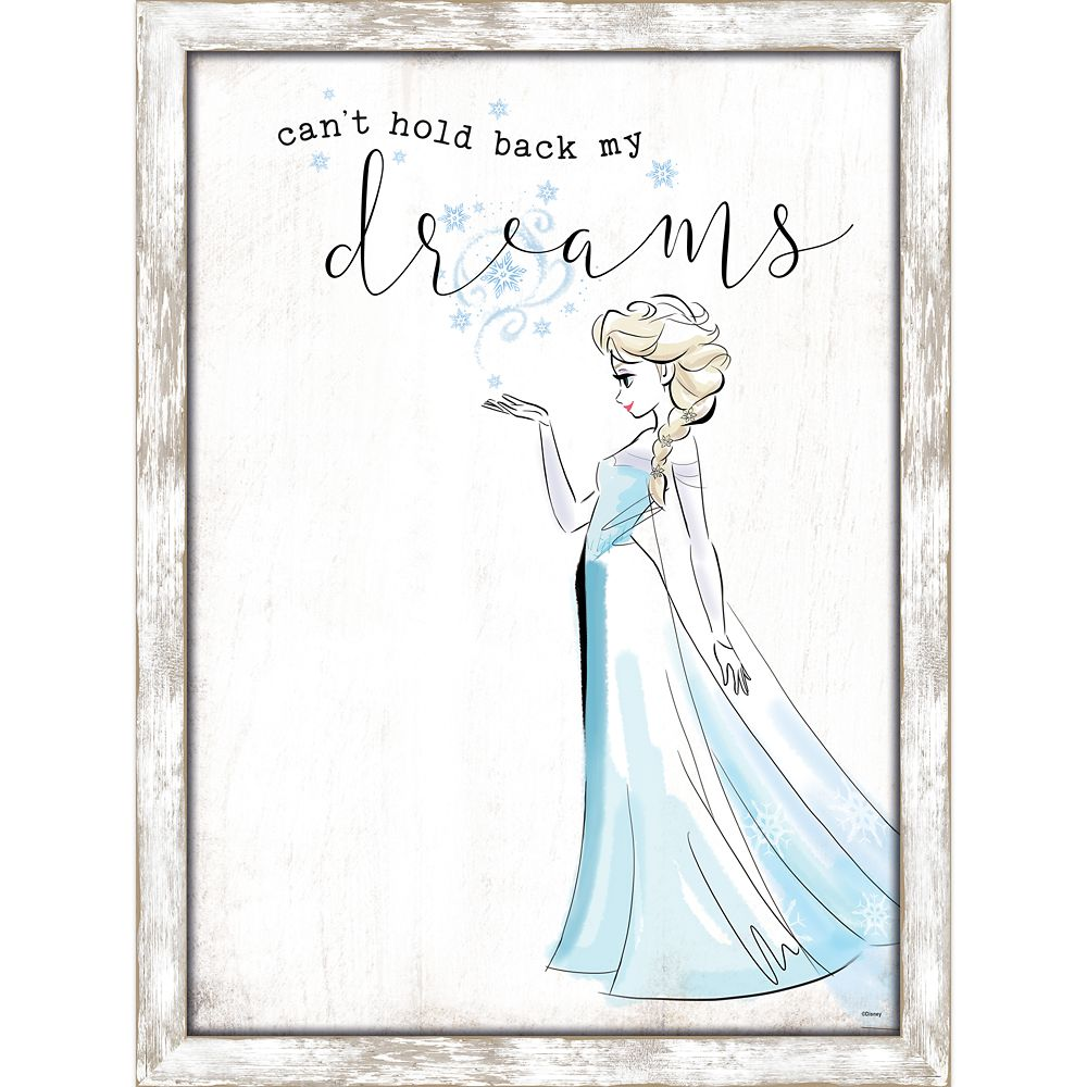 Elsa Framed Wall Decor