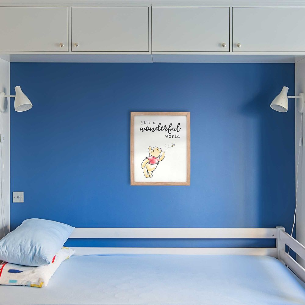 Winnie the Pooh ''It's a Wonderful World'' Framed Wall Decor