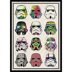 Star Wars Stormtrooper Helmets Tin Wall Decor