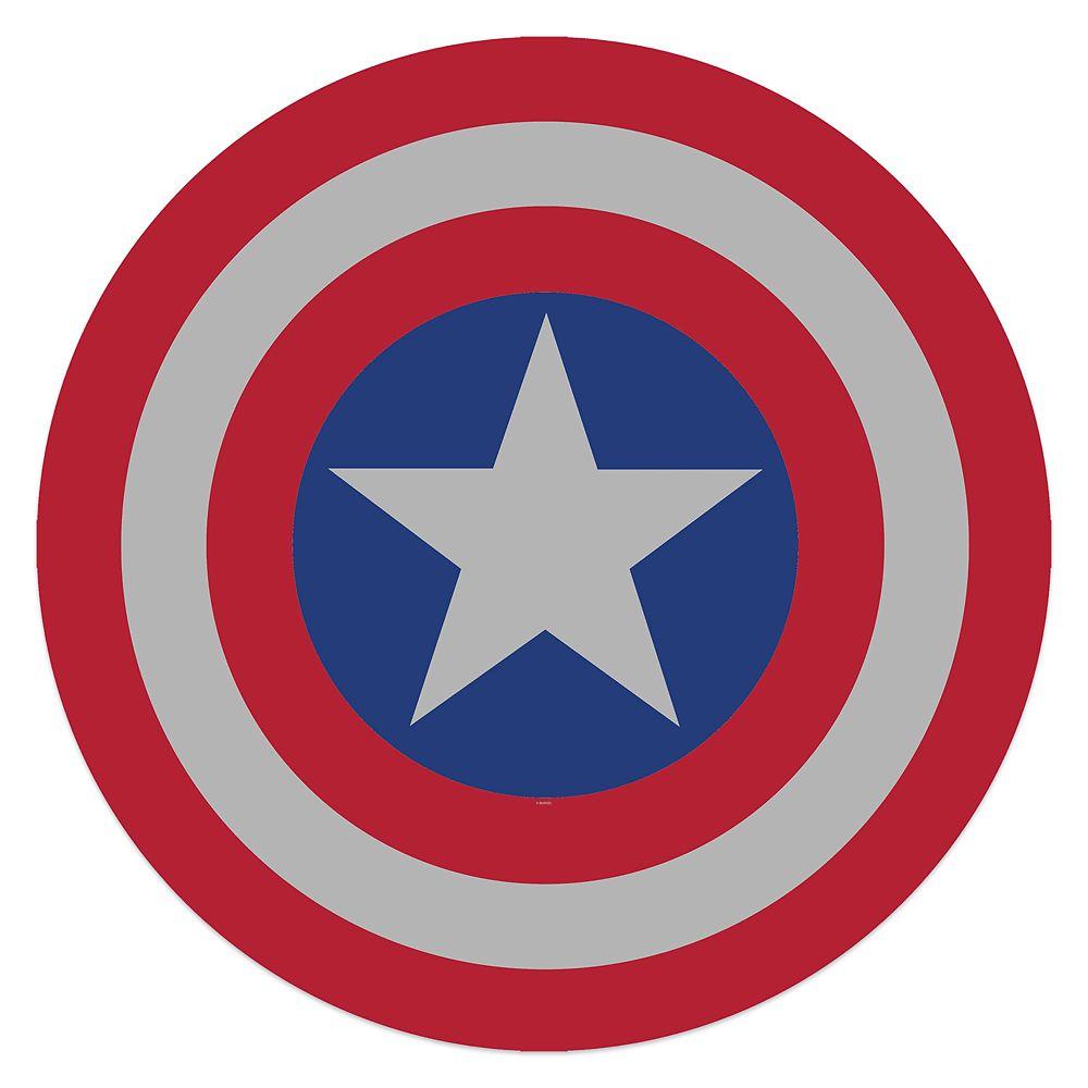 Captain America Shield Tin Wall Decor