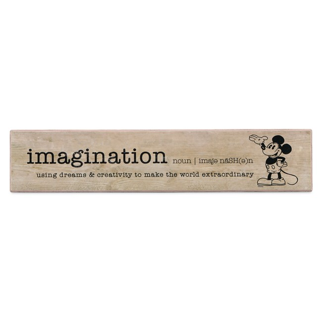 Mickey Mouse Wood Plank Art