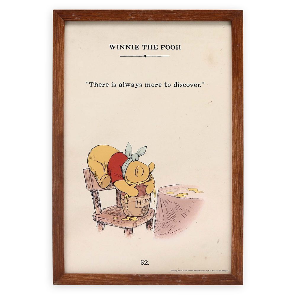 Winnie the Pooh ''More to Discover'' Wall Décor