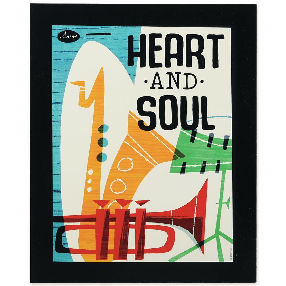 ''Heart and Soul'' Flat Wood Wall Art – Soul