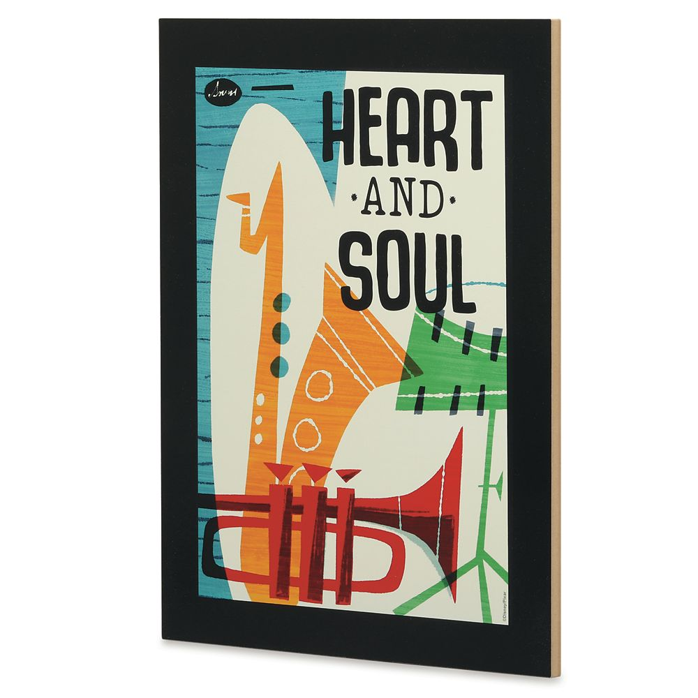 ''Heart and Soul'' Flat Wood Wall Art – Soul