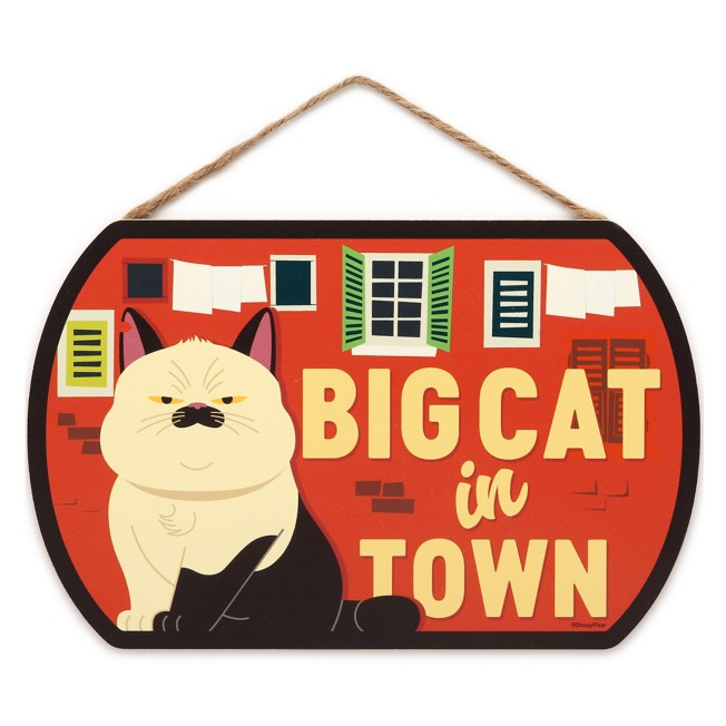 Machiavelli ''Big Cat in Town'' Flat Wood Wall Art – Luca