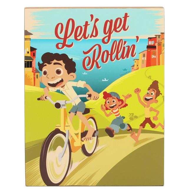 Luca ''Let's Get Rollin''' Wood Wall Art