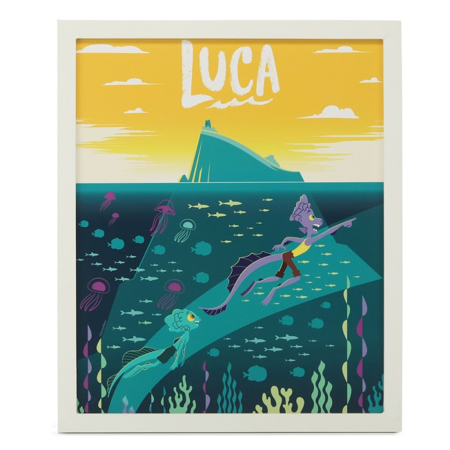 Luca and Alberto Framed Wood Wall Art