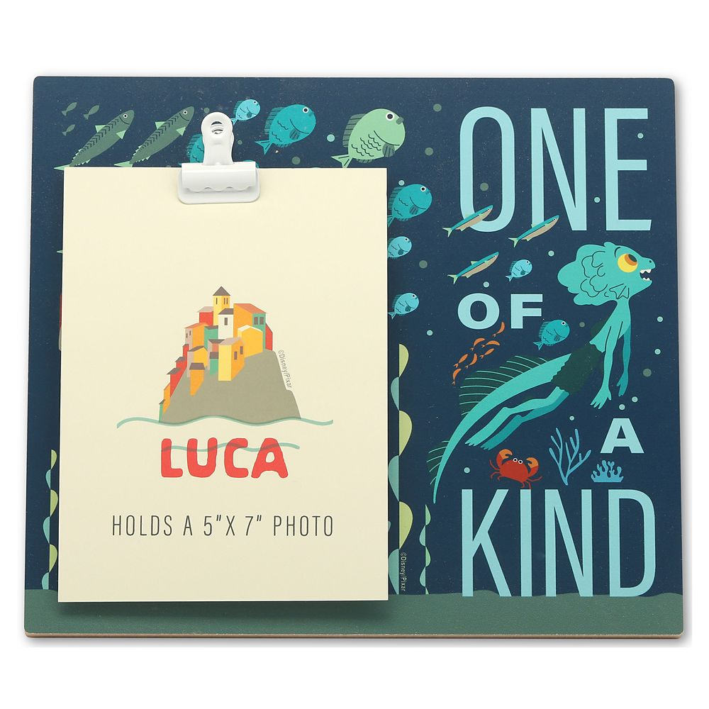 Luca ''One of a Kind'' Wood Photo Clip Frame – Luca