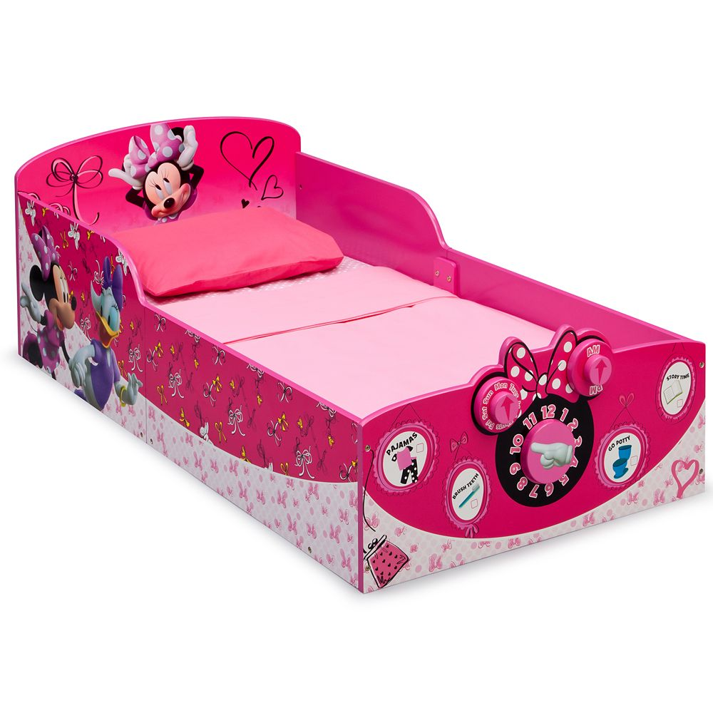 Minnie Mouse Interactive Wooden Toddler Bed