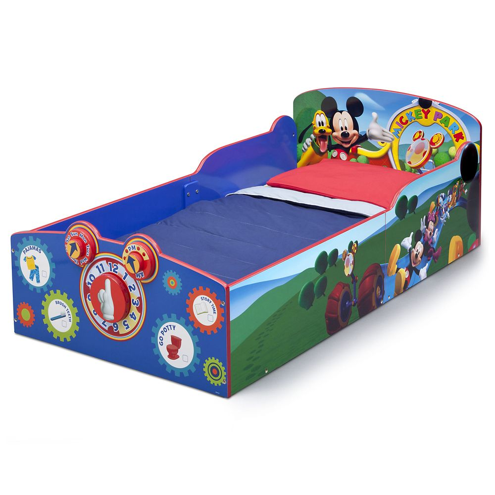 Mickey Mouse Interactive Wooden Toddler Bed