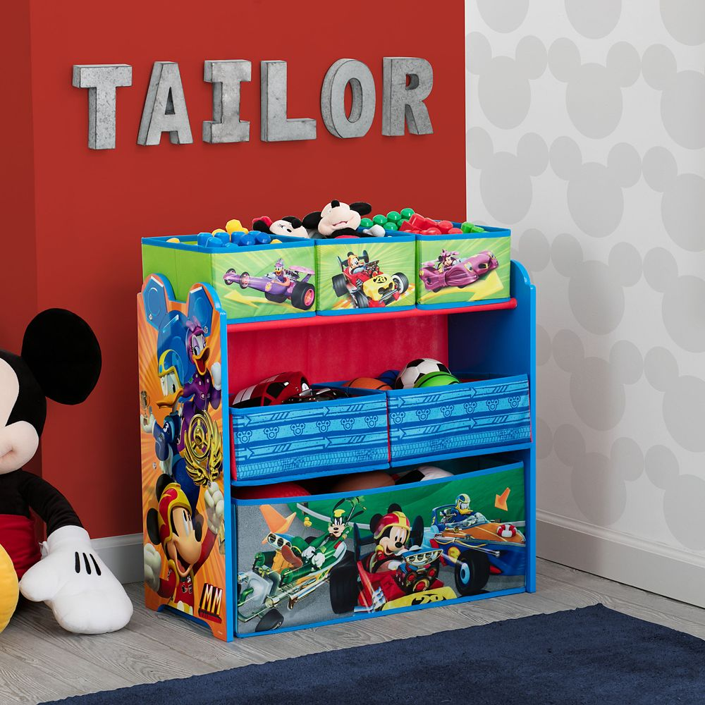 Mickey Mouse Toy Organizer