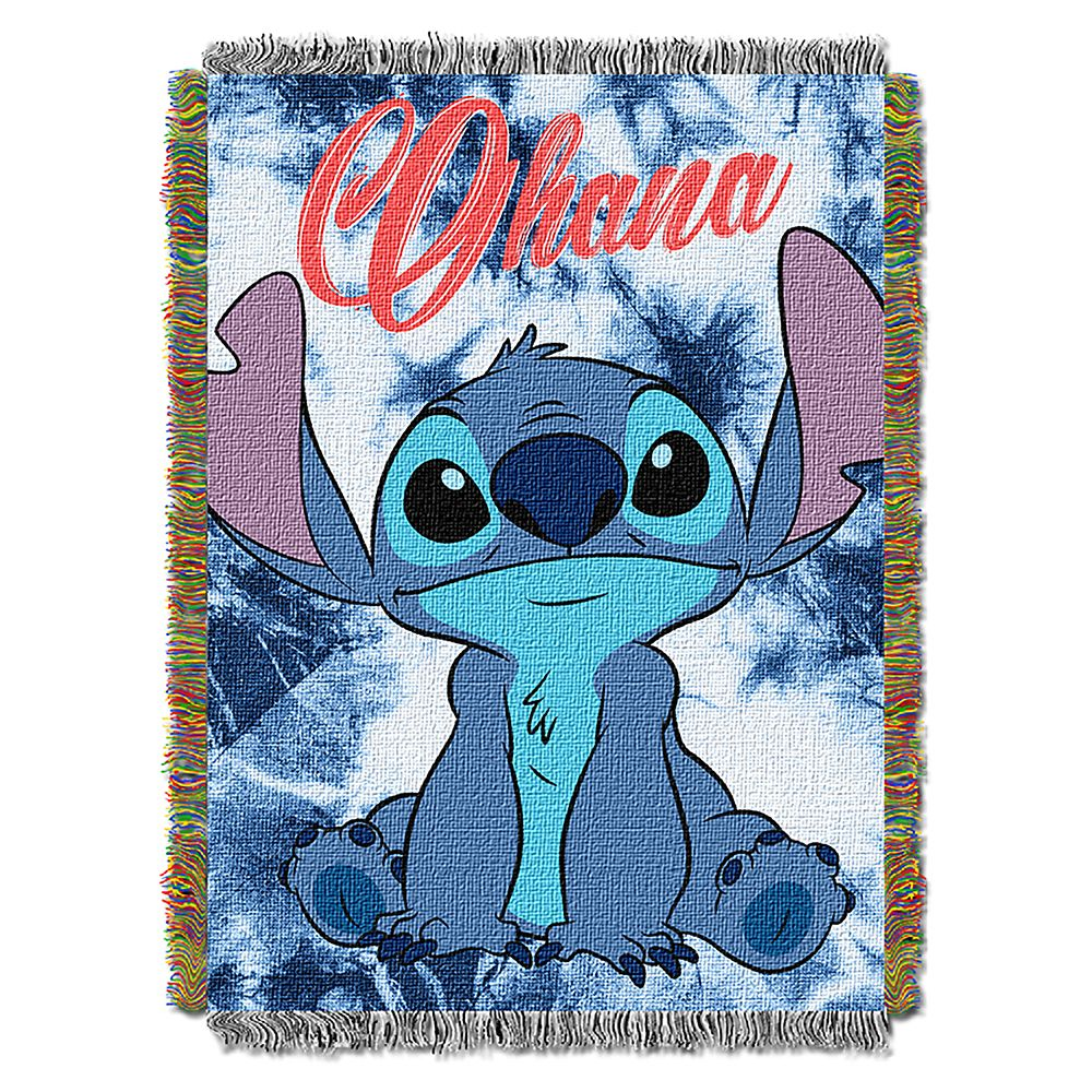 Stitch Woven Tapestry Throw – Lilo & Stitch