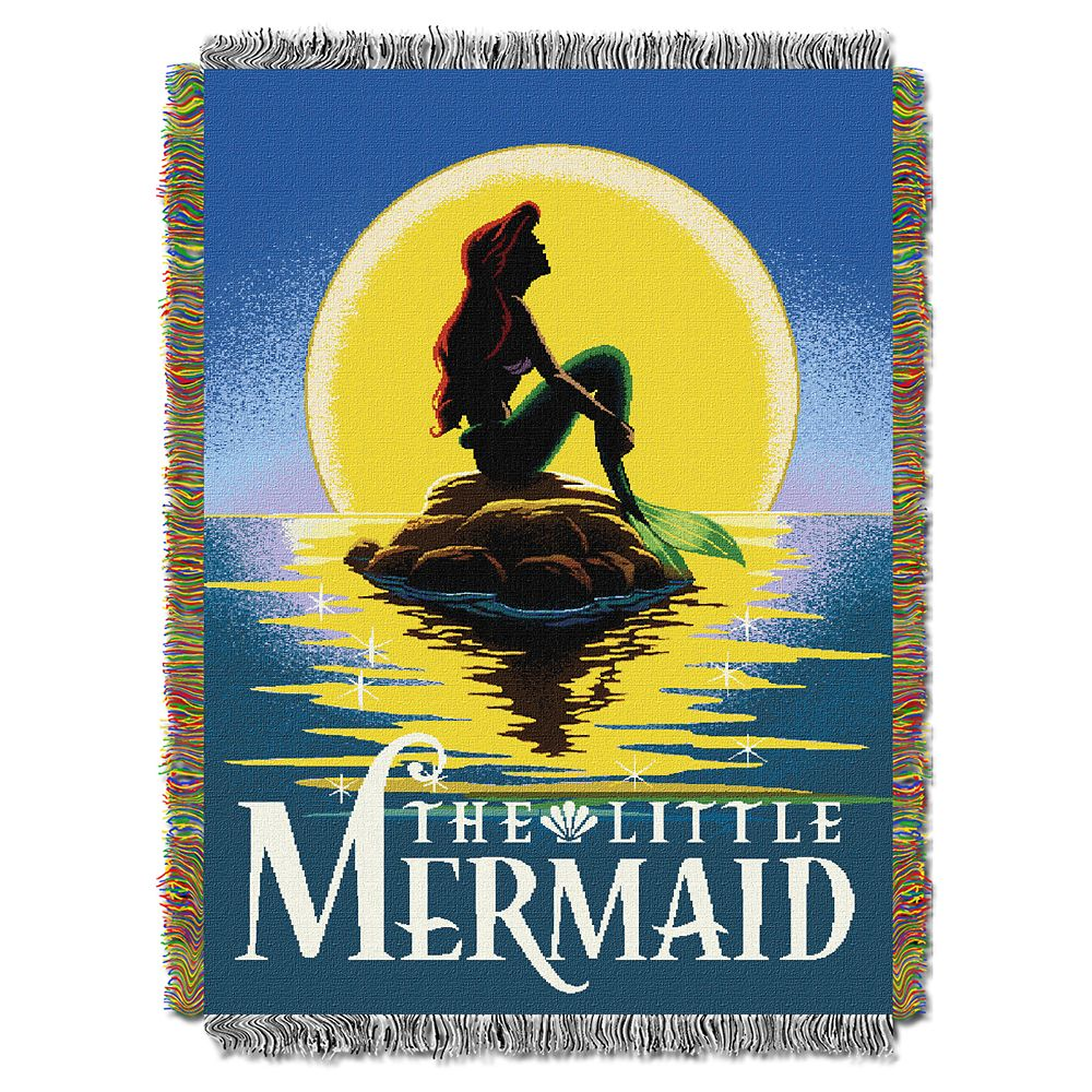 Ariel Woven Tapestry Throw Official shopDisney