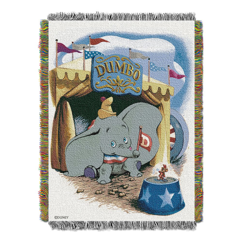 Dumbo Woven Tapestry Throw