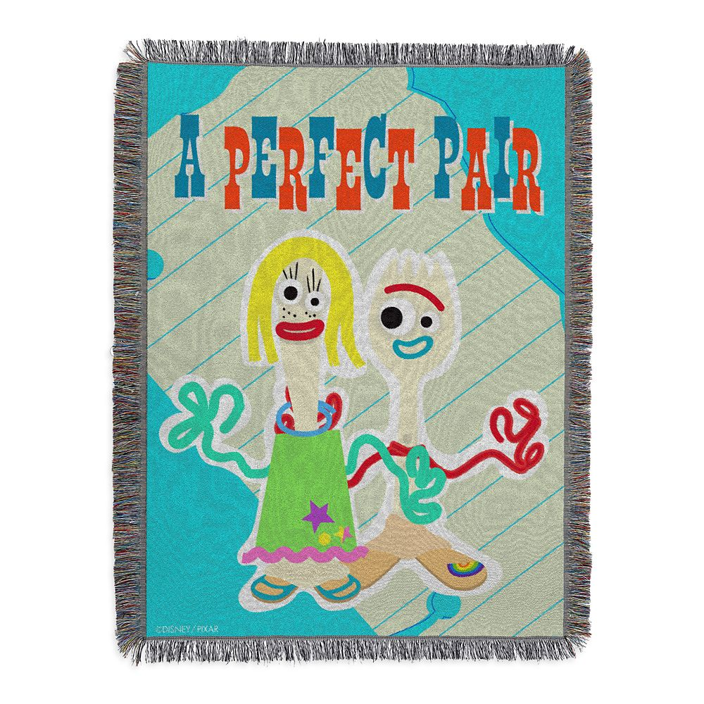 Toy Story 4 Woven Tapestry Throw Blanket