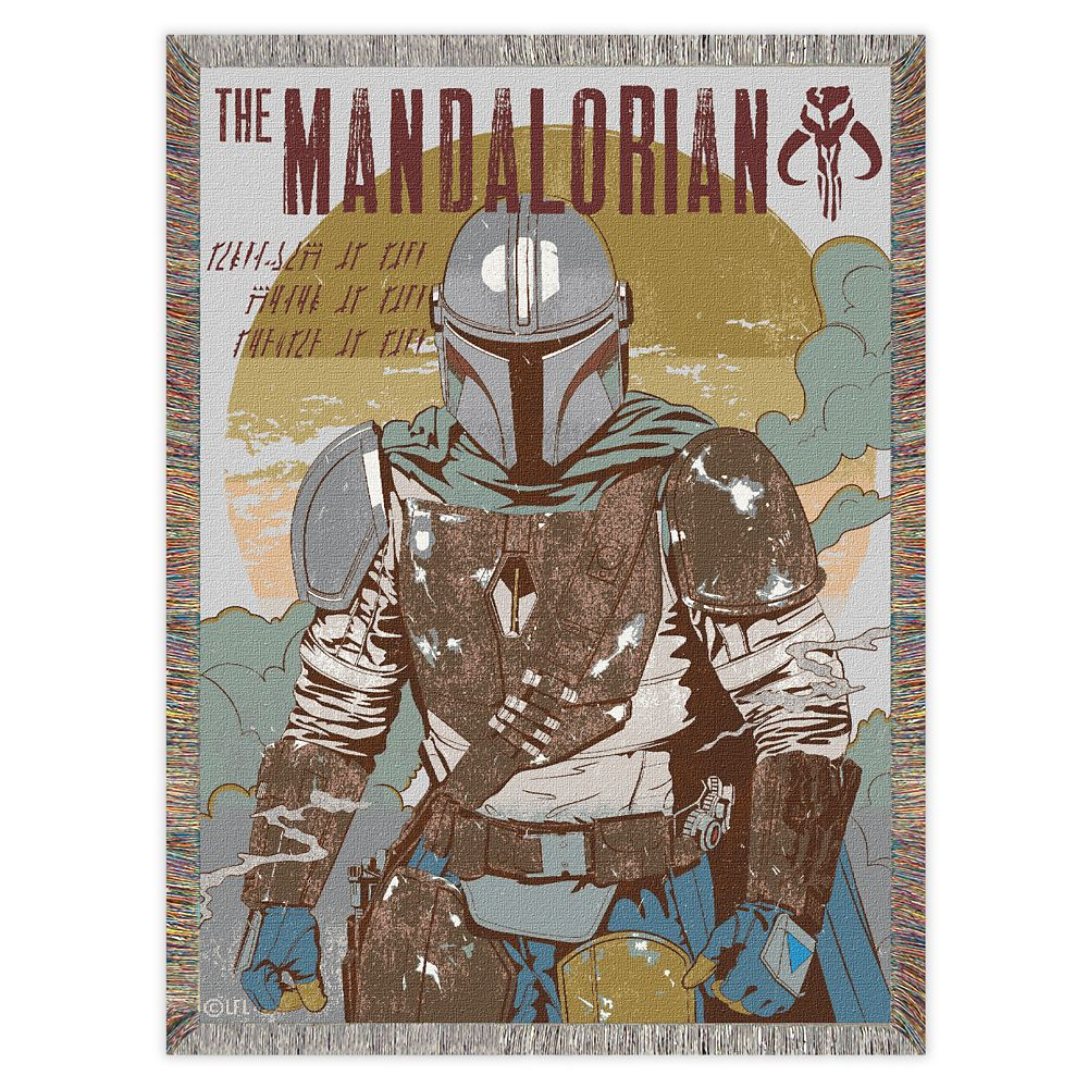 Star Wars: The Mandalorian Woven Tapestry Throw