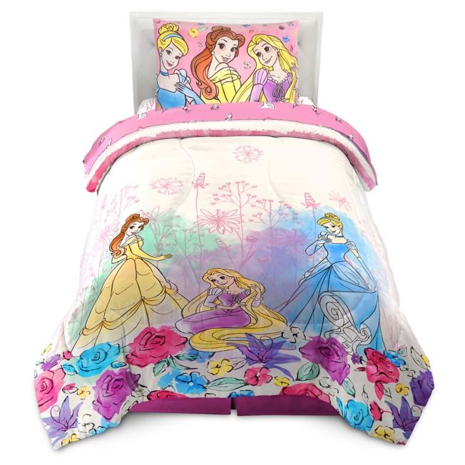 Disney Princess Comforter and Sham Set – Twin / Full