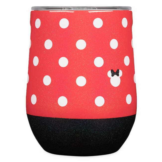 Minnie Mouse Polka Dot Stainless Steel Stemless Cup by Corkcicle