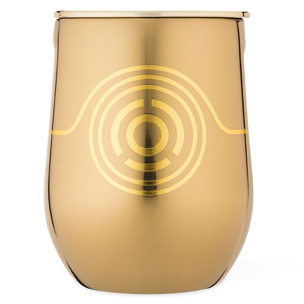 C-3PO Stainless Steel Stemless Cup by Corkcicle – Star Wars