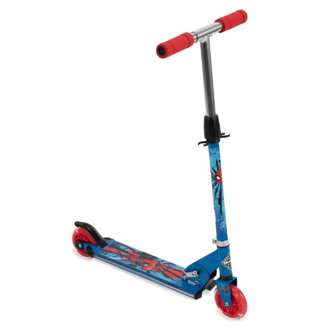Spider-Man Electro-Light Inline Scooter by Huffy