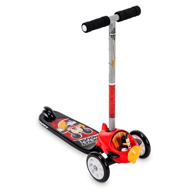 Mickey Mouse Tilt n' Turn Preschool Scooter by Huffy