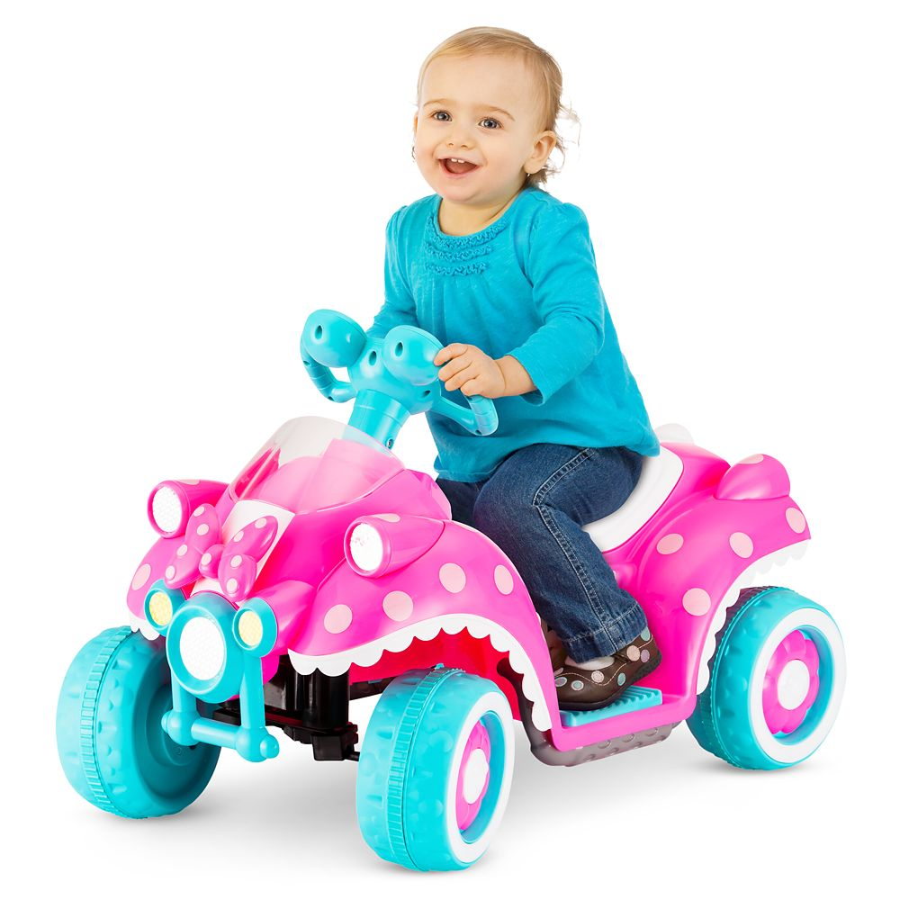 Minnie Mouse Electric Ride-On Quad