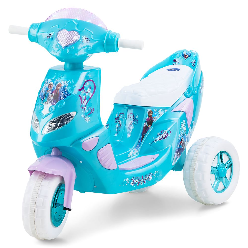 Frozen Electric Ride-On Scooter