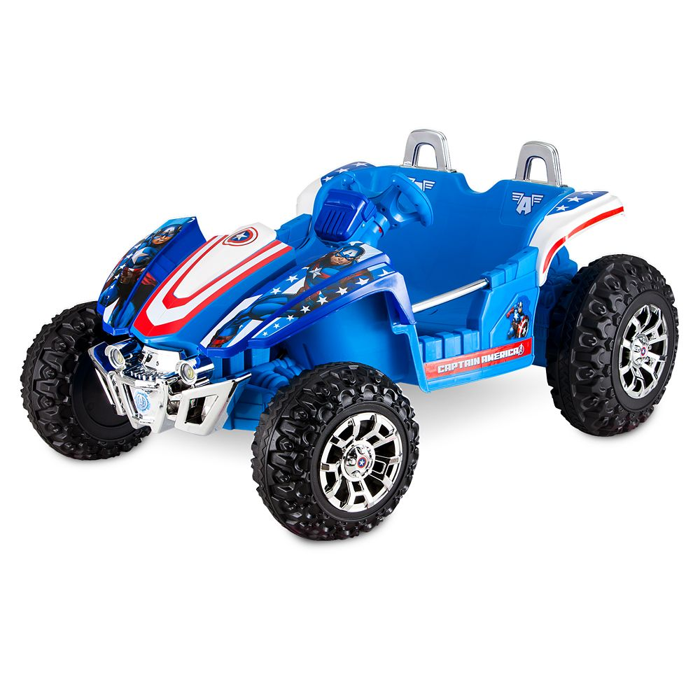 Captain America Electric Ride-On Dune Buggy