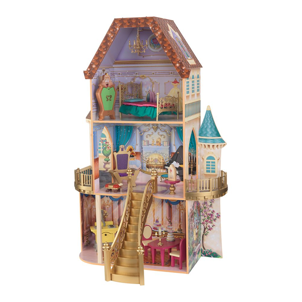 Belle Enchanted Dollhouse by KidKraft Official shopDisney